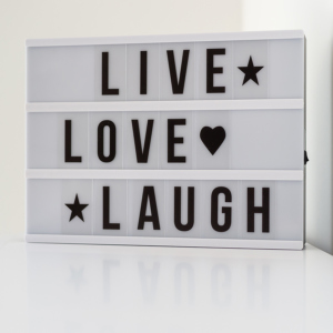 LED-Box Live, Love, Laugh